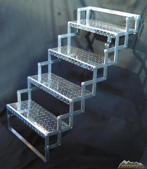 Best Scissor Steps 17 Wide 4 Step 33 Quadruple Rv Truck 400 x 300