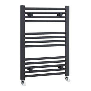 Premier Straight Ladder Rail - Anthracite - 700 x 500mm