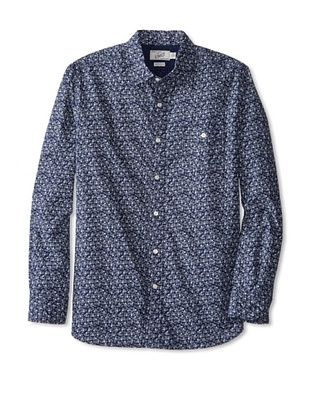 54% OFF Grayers Men's Printed Shirt (Geo Discharge)
