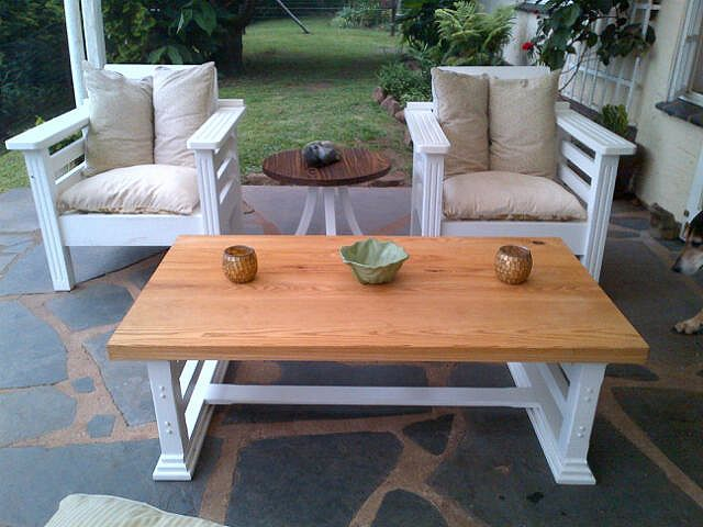 Pine coffee tables available in custom sizes...