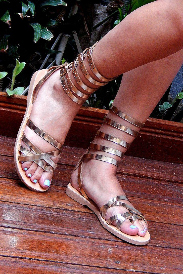 Handmade leather wedding sandal ANTIGONE 5 ...... Romba's leather sandals & bags