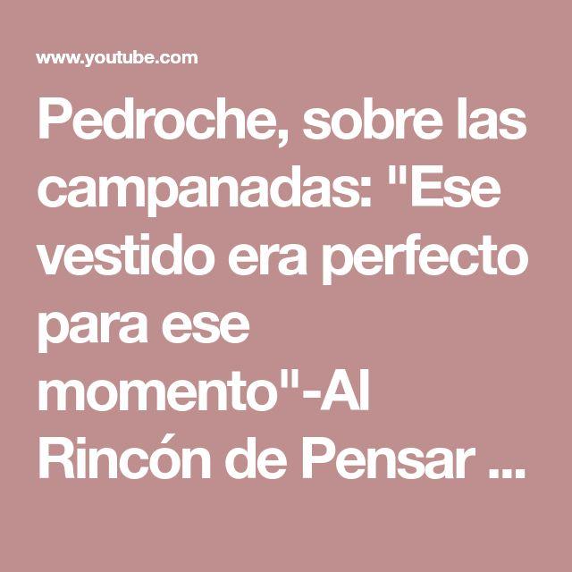 "Pedroche, sobre las campanadas: ""Ese vestido era perfecto para ese momento""-Al Rincón de Pensar - YouTube"