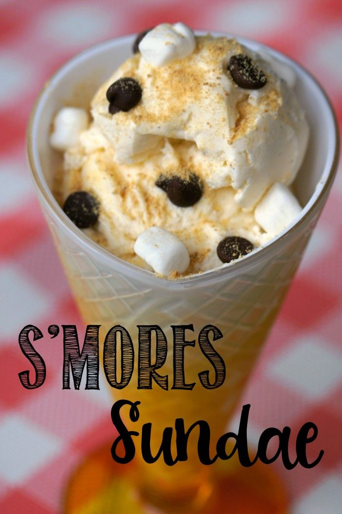 S'mores Sundae | Recipe | The two, The o'jays and Summer