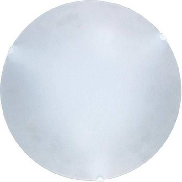 Plafon Redondo Jurerê 25cm Fosco 1xE27 Branco - 02040020 - Taschibra