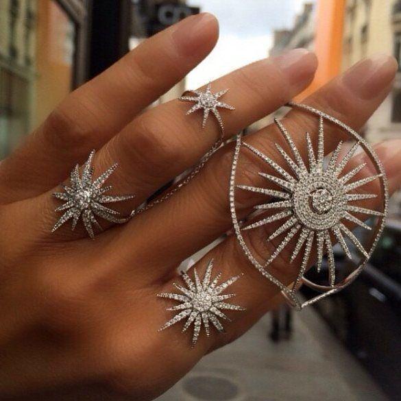 #djulajewelry  #star #rings #pirlanta. #istiyorum