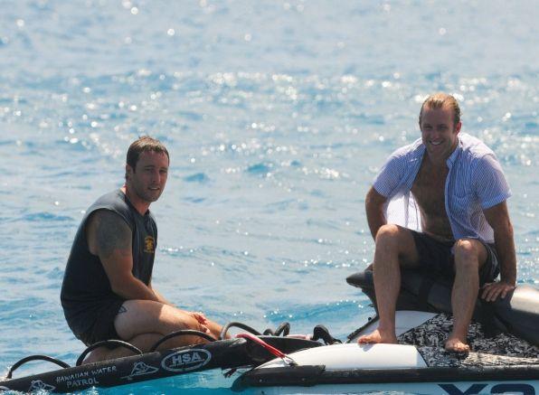 Hawaii Five-0 Photos: Break Between Scenes on CBS.com