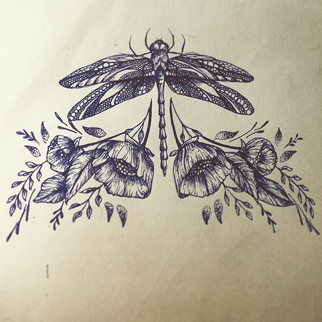 dragonfly sternum tattoo - Google-søgning