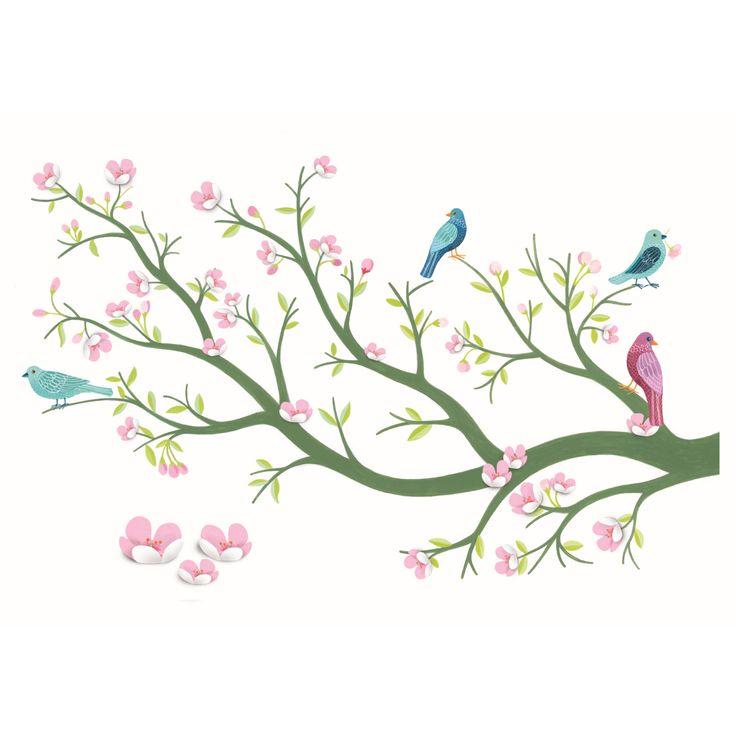 Wandtattoo / Wandsticker Cherry Tree | Accessoires und Dekoration | Kinderzimmer | Bellies and Babies Shop