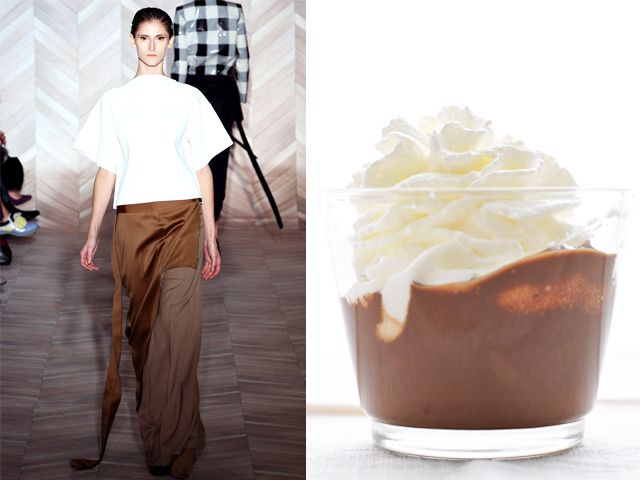 Maison Martin Margiela fw 2012-13 / Nutella and Chantilly Cream