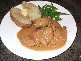 Dans les casseroles de GG: Bifteck à l`étouffée(mijoteuse)