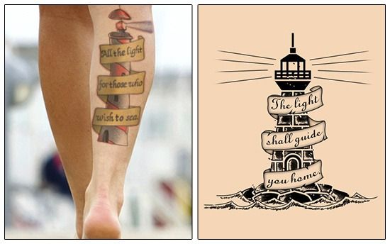 Wonderful Lighthouse Tattoo Designs And Meanings To Steal