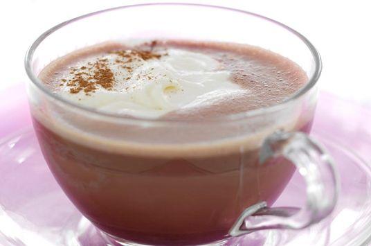 Varm chokolade med marcipanskum