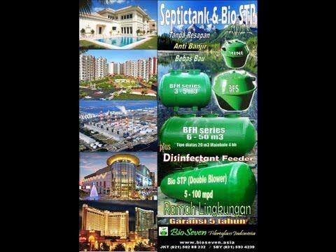 Septic tank BioSeven MURAH - JKT (021)50288232 / SBY (031)5934239 / 0821 4123 5115 - YouTube
