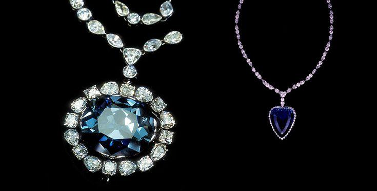 The hope diamonds