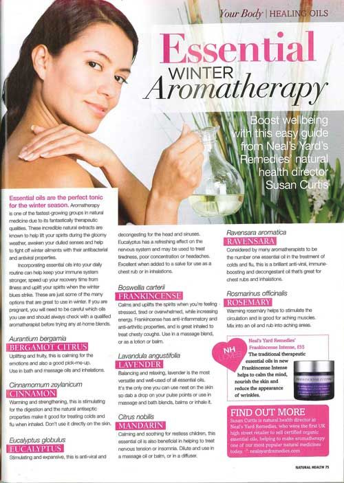 We feature in Natural Health Magazine November Issue!