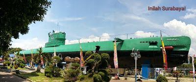 Monumen Kapal Selam Surabaya. the biggest submarine monument in South East Asia