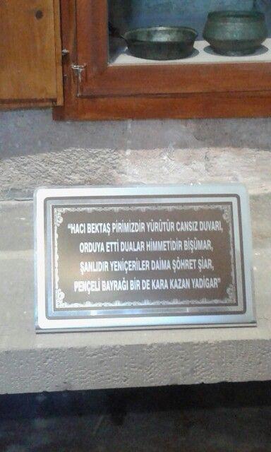 Hacı Bektaş Veli Türbesi.