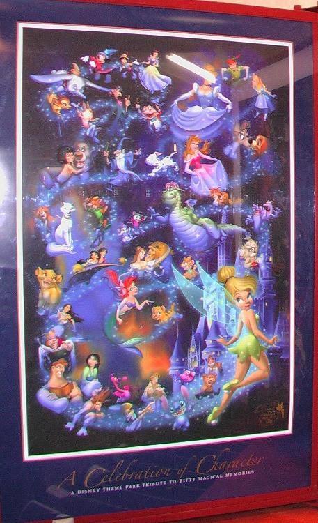 Disney poster decor!
