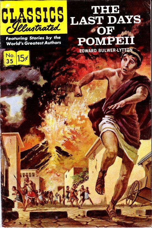 Mom wondered at my choosing the Classics Illustrated, which cost more, instead of getting more cheaper comics