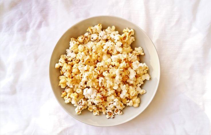 Caramel popcorn recipe |   Καραμελωμένα ποπ κορν