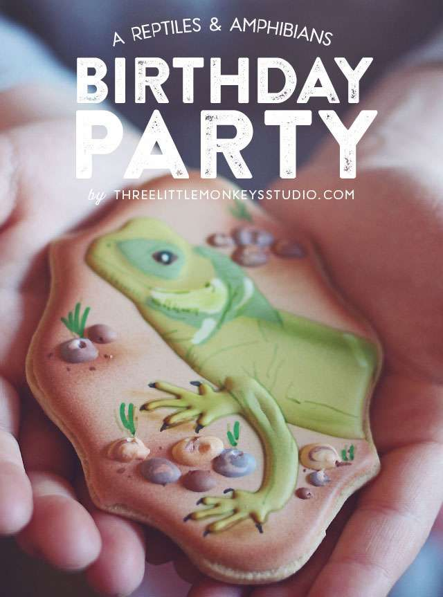 herpetology, reptiles, amphibians Birthday Party Ideas | Photo 1 of 23 | Catch My Party