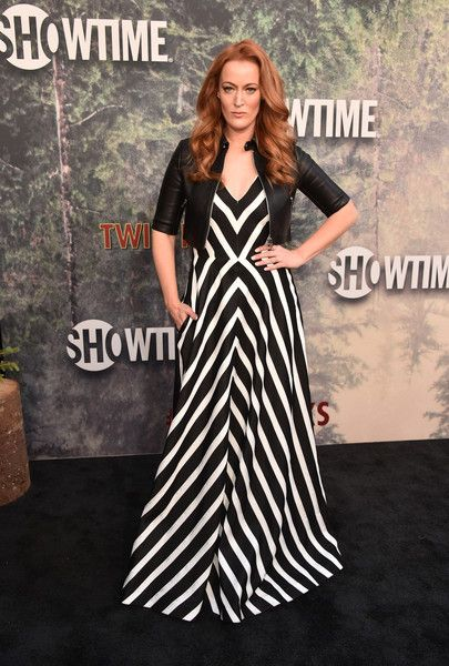 "Adele René attends the premiere of Showtime's ""Twin Peaks"" at The Theatre at Ace Hotel on May 19, 2017 in Los Angeles, California."