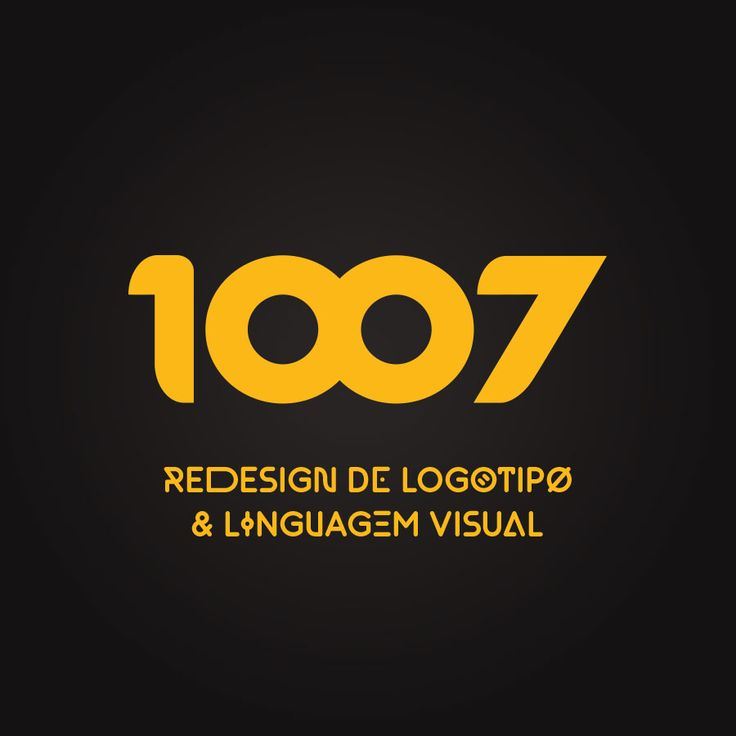 Projeto de re-design de logotipo para a casa noturna 1007.