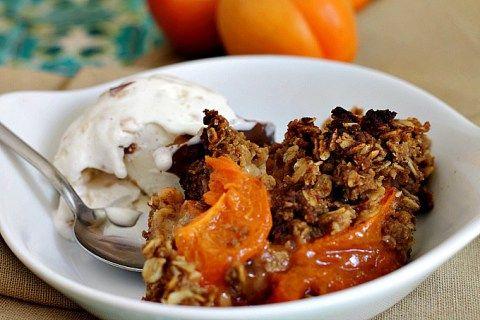 Best Apricot Crisp - Lydia's Flexitarian Kitchen