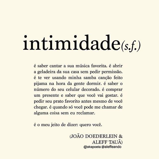 Intimidade
