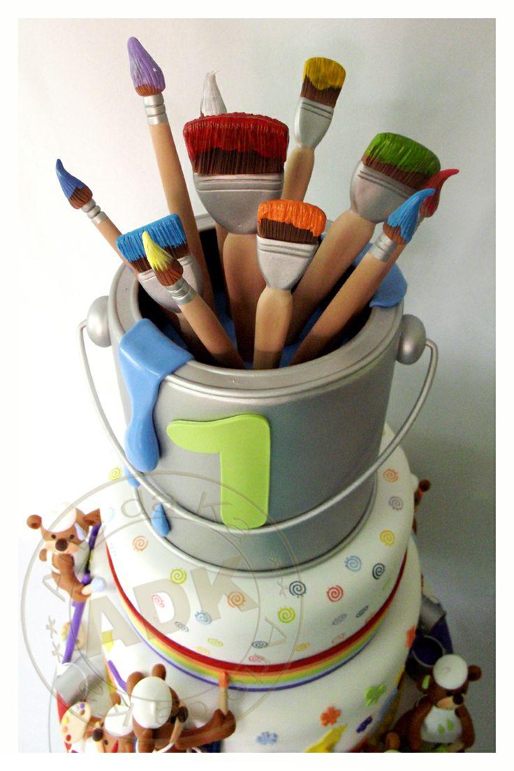 Artist Cake Decoration : Best 20+ Artist cake ideas on Pinterest