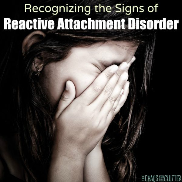 This may help you in recognizing the signs of Reactive Attachment Disorder, (commonly known as RAD) in your child. There is hope after diagnosis.