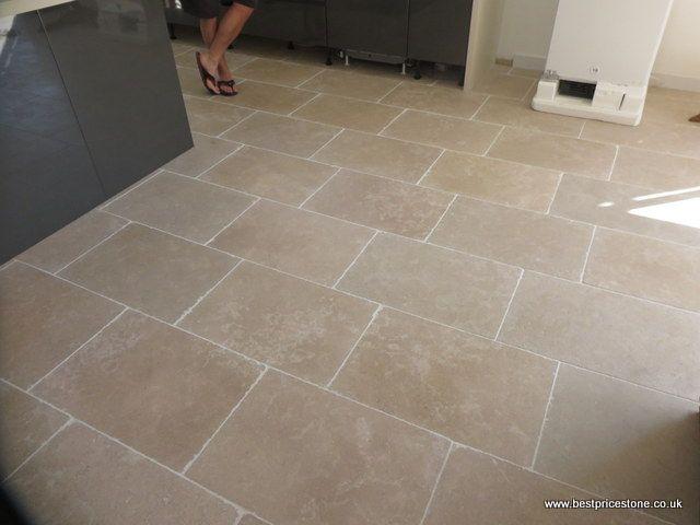 Dijon Tumbled 600x400x15mm Limestone Tiles