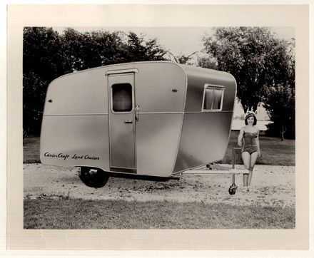 Chris Craft Land Cruiser: Kozy Campers, Campers Galore, Chris Craft Land, Land Cruiser, Travel Trailers, Classic Boating, 1954 Chris, Crafts