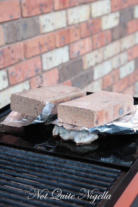 Barbecuing Birds With A Brick | Bricks and Chicken