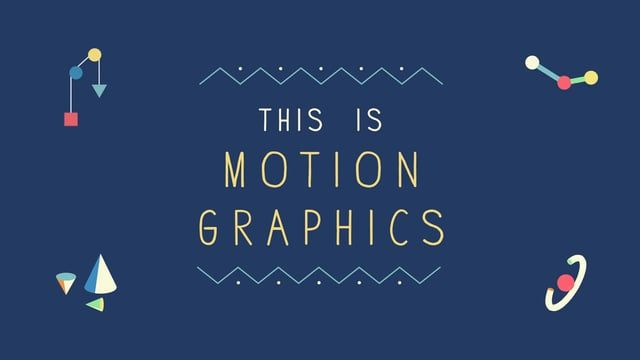 This is Motion Graphics !  Design : 鄭凱文 Kevin Cheng 2D Animation : 鄭凱文 Kevin Cheng /徐光慧 Sylvia Hsu 3D Animation : 徐光慧 Sylvia Hsu Cel Animation : 鄭凱文 Kevin Cheng  Advisor : 林美吟 Meiyin Lin Music :  Gotswim - Dutch VO : 李曼寧 Man Ning Li /呂貽雯 Wendy Lu Behance : https://www.behance.net/gallery/21451453/This-is-Motion-Graphics-