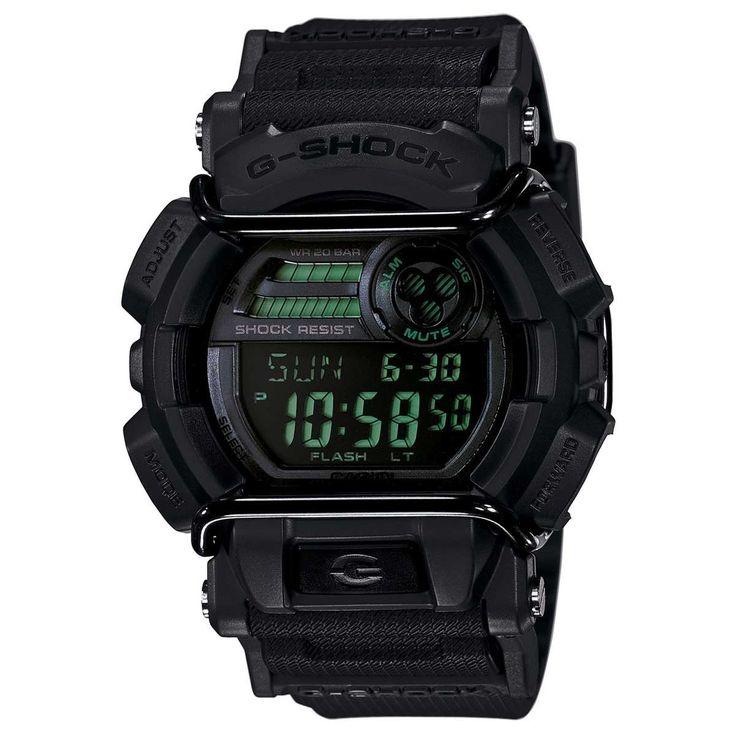 Casio GD400MB-1 Men's G-Shock Digital Black Dial Black Resin Strap World Time Dive Watch