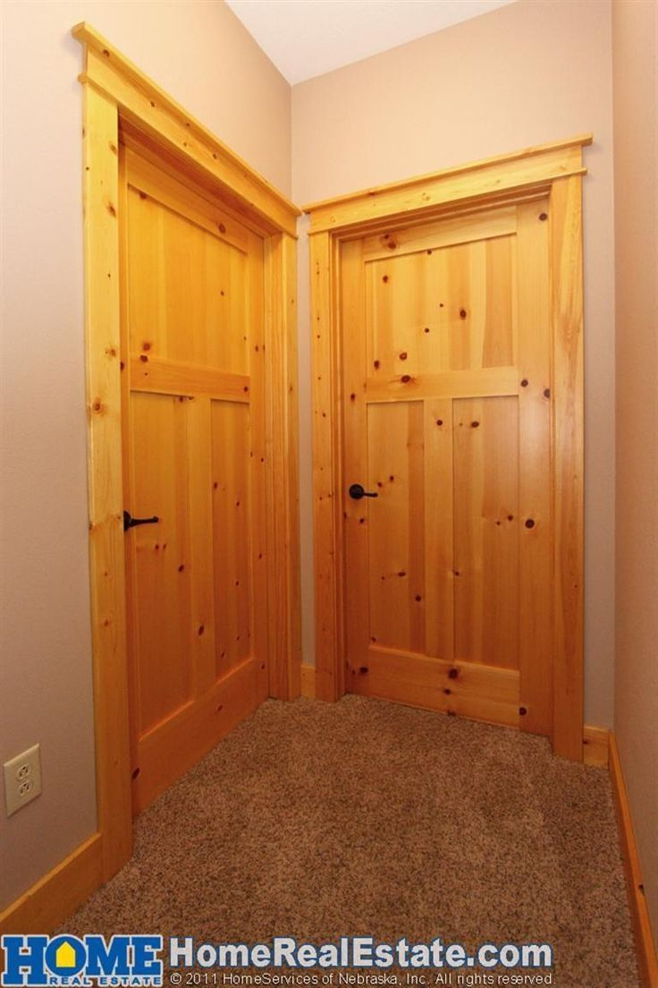 Pine Doors Alaska Check Out The Natural Knotty Pine Trim