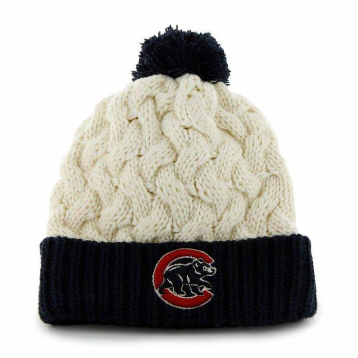 Chicago Cubs Women's Matterhorn Knit Cap by '47 Brand   Sports World Chicago $18.95