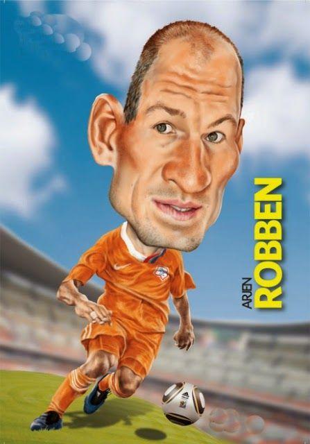 cosasdeantonio: Arjen Robben - Fotos