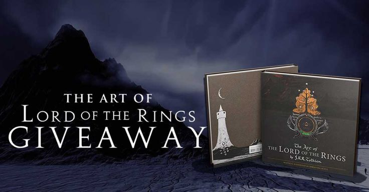 #Tolkien Art of Lord of The Rings #LOTR #Giveaway