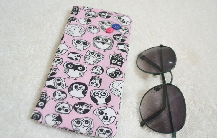 Porta-óculos Corujas | R$15,00