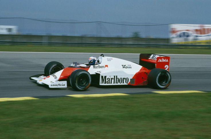 Alain Prost (McLaren-TAG) Grand Prix du Brésil - Interlagos 1985 - Formula 1 HIGH RES photos (Old and New) Facebook.