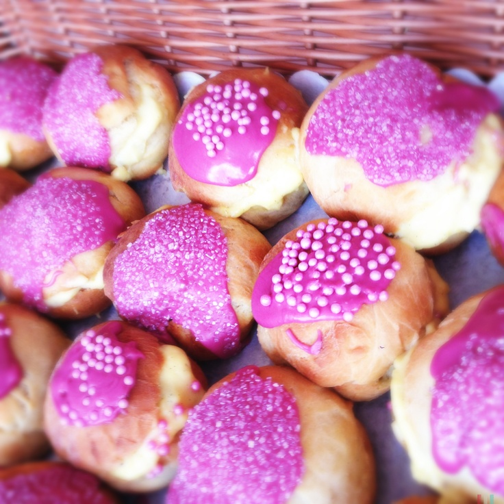 Pink yumminess for Danish carnival - Fastelavn
