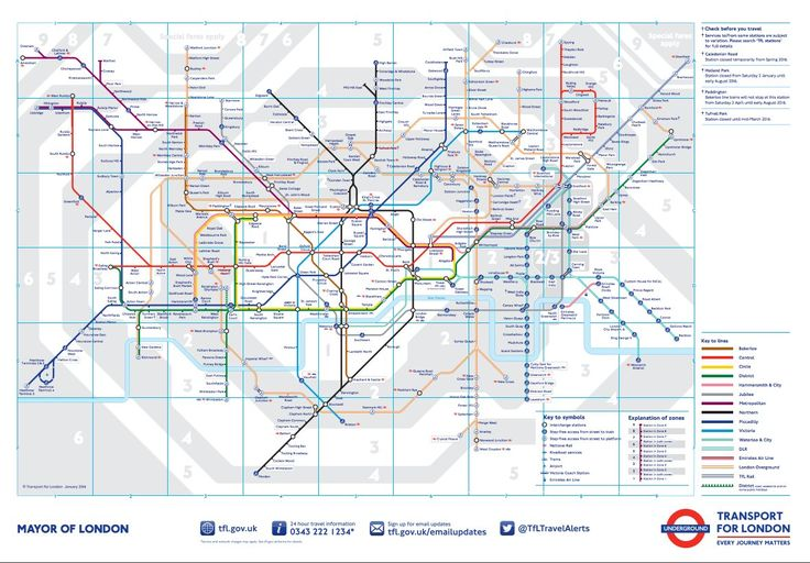 London Underground Housing Map Shows Exactly Where You Can't Afford To Live