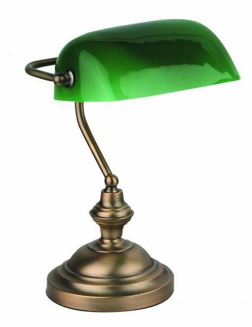 Lámpara de Banquero color Bronce #iluminacion #lamparas #clasicos