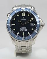 Omega Bond Blue Seamaster Professional 300 Chronometer Automatic Large 2531.80