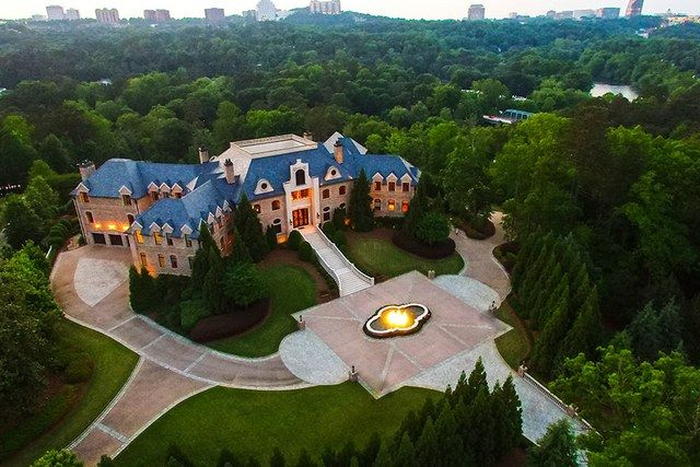 Actor and filmmaker Tyler Perry just added another bullet point to his résumé: real-estate record holder. Perry's French Provincial–style manor in Atlanta just sold for $17.5 million, breaking the city's record for most expensive residential sale, reports the Atlanta Business Chronicle, which notes that the previous highest sale was a Buckhead estate that sold for $10.5 million in 2009. Perry's home was built in 2008 with careful attention to detail. Set on 17 parklike acres along the Chattah