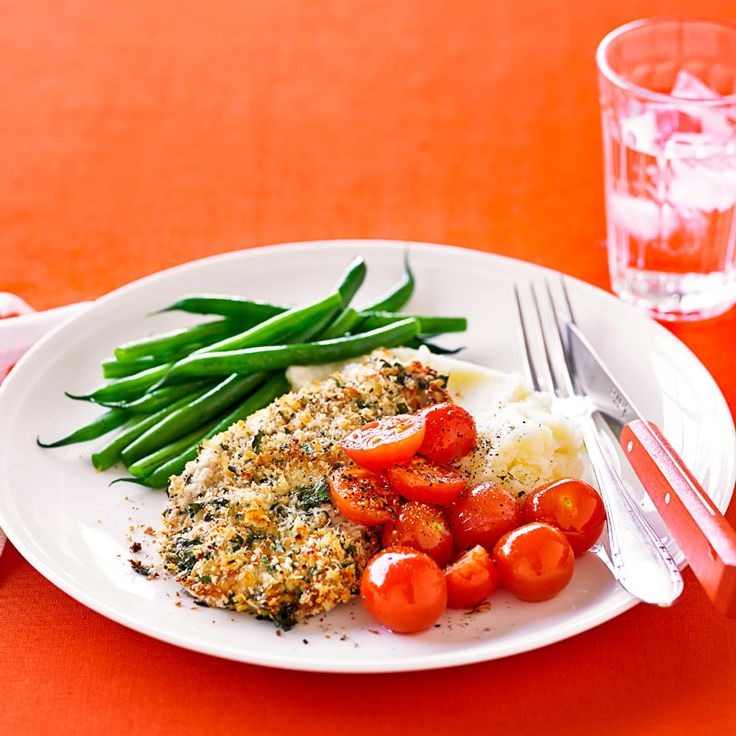 Parmesan turkey schnitzel Recipe | Weight Watchers AU