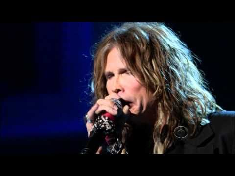 AMAZING...Kennedy Center - Paul McCartney Tribute by Steven Tyler (played the last 4 songs of Abbey Road...She Came in Through the Bathroom Window, Golden Slumbers, Carry That Weight, & The End)