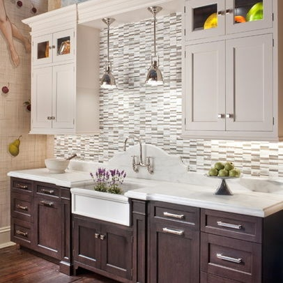 Dark base cabinets design pictures remodel decor and for Classic kitchen cabinets inc